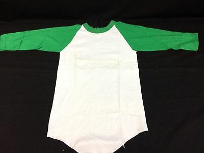 Vintage Youth Raglan Russell Athletic T-shirts Deadstock Baseball 3/4 Sleeve