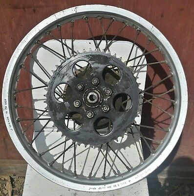 "1979 77 78 Yamaha IT175 Rear Rim DID Hub 18"" 1.85 x 18"