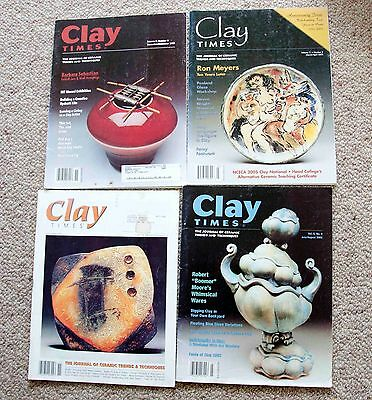 4 issues Clay Times