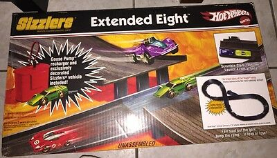 Hot Wheels - Sizzlers - Extended Eight Race Set - BNIB