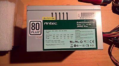 ANTEC EARTHWATTS EA-380 alimentation ATX 380w VTL 80mm silencieuse 80 PLUS