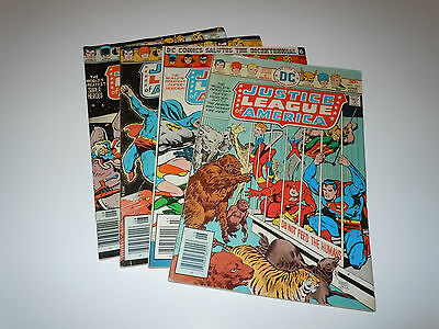 Justice League of America 131 132 133 134 Comic Lot DC JLA Ernie Chan Conway