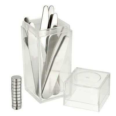 4 Pairs Metal Collar Stays For Men Shirts Collar In Clear Box Useful