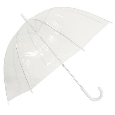 Willow Tree POE Dome Birdcage Clear Transparent Umbrella