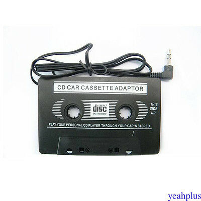 Car Audio Cassette Casette Tape AUX Audio Adapter For MP4/3 CD Ipod iPhone ys28