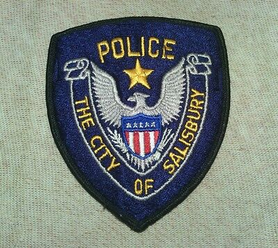 NC City of Salisbury North Carolina Police Patch