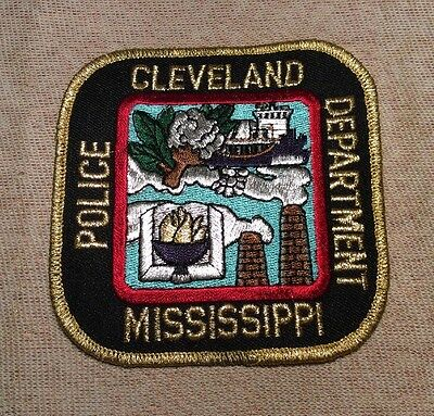 MS Cleveland Mississippi Police Patch