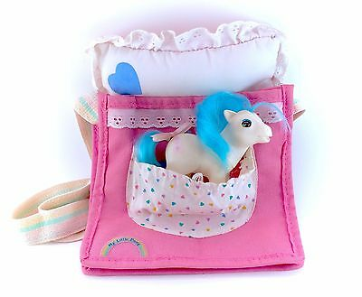 Vintage G1 Sleepy Pie Complete Purse Bag Pouch My Little Pony Baby Beddy Bye