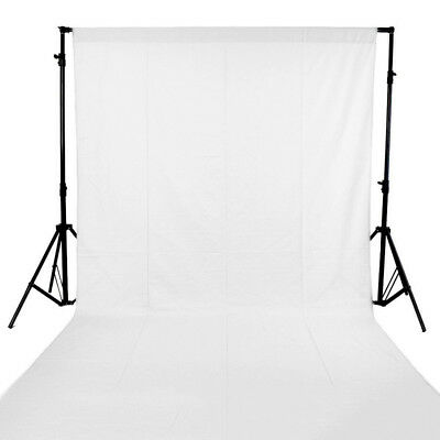 6X9FT White Muslin Background Digital Photo Studio Screen Photography Backdrops