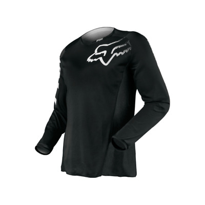 Fox Blackout Adult Mx Motocross Jersey Black