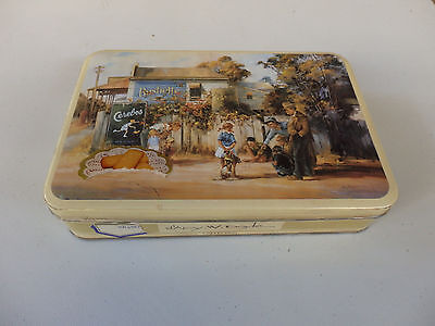 Collectable  D'arcy Doyle biscuit tin .  Circa 1993. Bushells.