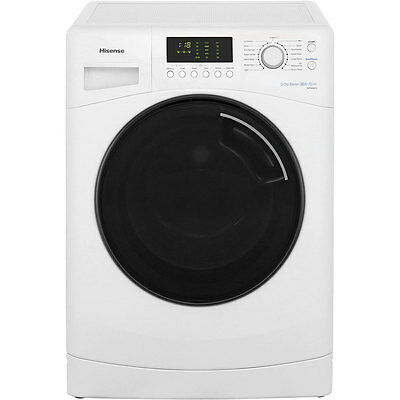 Hisense WFNA9012 N Series A+++ 9Kg Washing Machine White New from AO