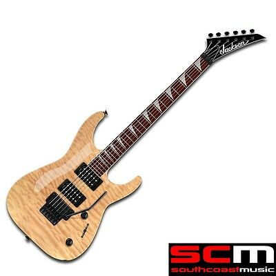 New Jackson Dinky Electric Guitar Js32Q Quilt Maple Arch Top Natural Blond