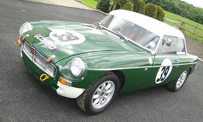 1966 MGB Competition Roadster