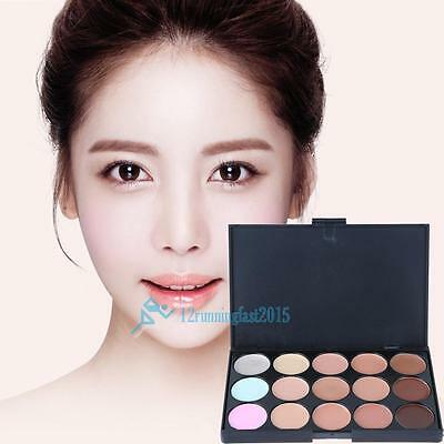 New 15 Professional Couleur Make Up Cream Camouflage Palette Correcteur New!