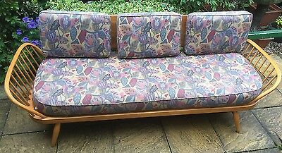 Fine Retro Ercol Sofa/daybed Clean Condition Cheap Delivery Available
