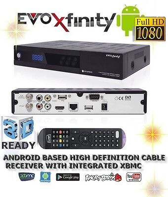 FULL HD Kabel receiver EvoXfinity Android Digital FullHD cable receiver