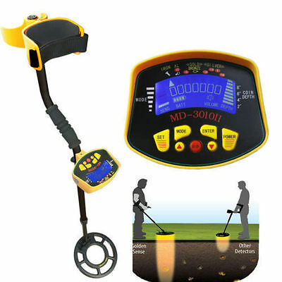 Metal Detector LCD Screen Deep Target Power Coils Treasure Hunting Waterproof