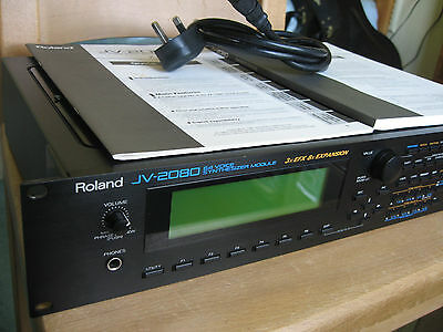 Roland JV2080 Synth Sound Module VGC