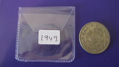Old George Vi   Two Shillings,  1949