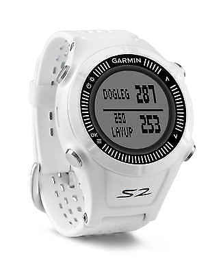 Garmin S2 Approach GPS Golf Reloj Blanco
