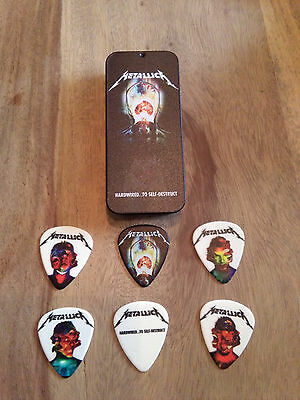 Metallica Hardwired World Tour Guitar Pick Tin  - 6 Picks incl.