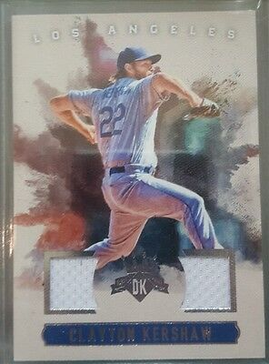 2017 diamond kings patch card of clayton kershaw. Dodgers