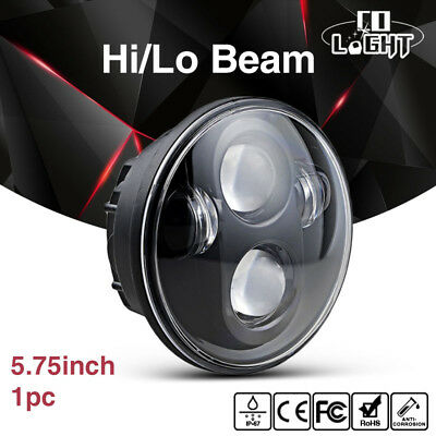 "5.75"" LED Daymaker Projector Headlight Halo Fits Harley Sportster XL 1200 883 H4"