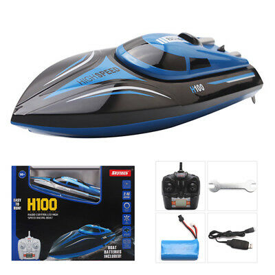 Skytech H100 Electric RC Racing Boat 2.4GHz 4CH 180° Flip High Speed Water Coole