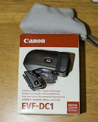 Canon EVF-DC1 Electronic Viewfinder for Powershot G3 X Mark II 2 EOS M3