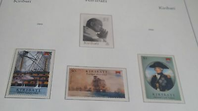 Kiribati 2005 Sg 743-745 Bicent Of The Battle Of Trafalgar (2Nd Issue) Mnh