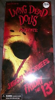 Living Dead Dolls - Jason Voorhees Friday the 13th - new in box