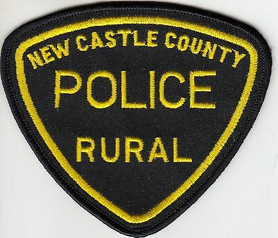New Castle Rural Police Shoulder Patch Delaware De