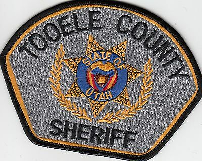 Toole County Sheriff Utah Ut Police Patch