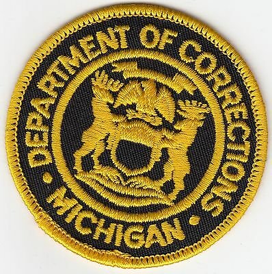 Michigan Department Of Corrections Doc Mi Police Patch