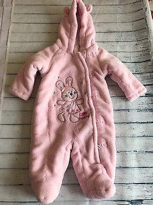 Baby Girls Clothes 0-3 Months-Soft Snowsuit Pramsuit All in One