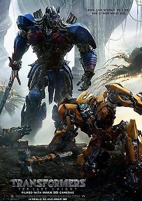 Transformers The Last Knight 2017 Movie Poster A6+A4+A3+Super A3+Framed Print