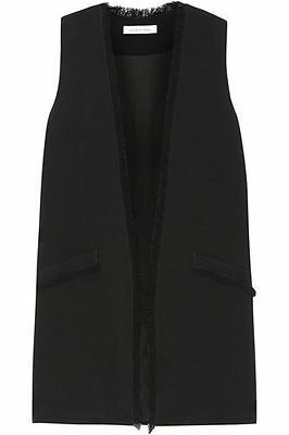 Bnwt Elizabeth And James Hannover Black Vest/waistcoat- M Rrp £319