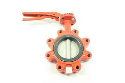 New Sure-flow BFV 4 In 125 Iron Stainless Flanged Butterfly Valve