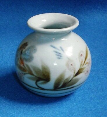 "HIGHLAND STONEWARE SMALL VASE  ""LOCHINVER"" LINDA MacLEOD c1979/85"