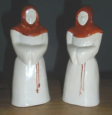 Cinque Ports Pottery MONKS Salt and Pepper set