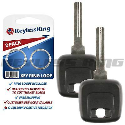 2x Ignition Car Key for Volvo C30 C70 S40 S60 S80 V50 V70 LQNP2T-APU Fob Remote