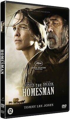 DVD  //  THE HOMESMAN  //  Tommy Lee Jones - Hilary Swank  /  NEUF cellophané