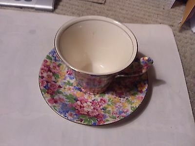 James Kent Teacup And Saucer - Apple Blossom
