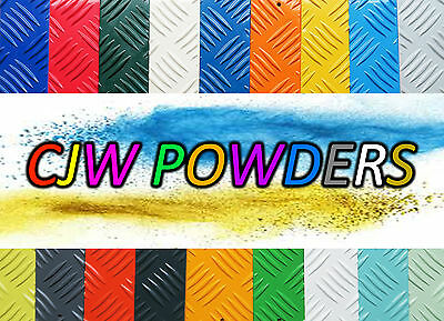 Powder Coating Powder RAL Colours - Red Blue Yellow Green Orange Grey White