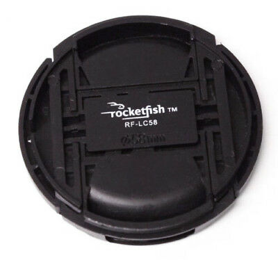 Rocketfish RF-LC58 58mm Replacement Camera Lens Cap for Canon 58mm DSLR Camera