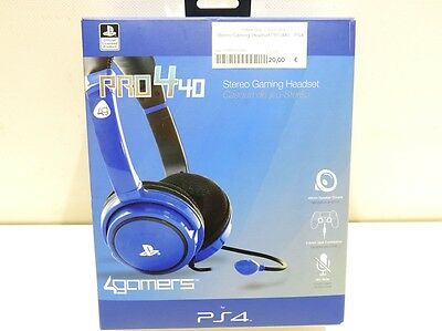 Stereo Gaming Headset Pro440 - Ps4