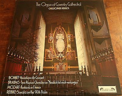 Christopher Herrick - The Organ of Coventry Cathedral (1973 LP + Insert SOL 335)