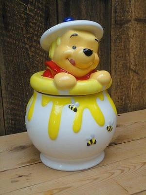 Winnie The Pooh Cookie Jar Authentic Disney Store Original Product Kitchenalia J