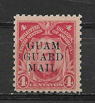 GUAM , GUARD MAIL , PHILIPPINES , US ,  4c STAMP O.P. , PERF,  MNH